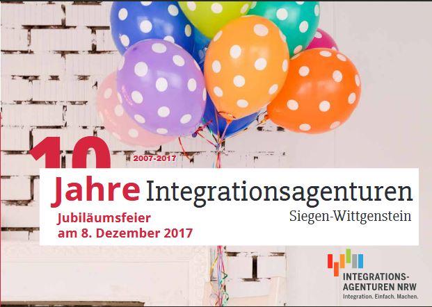 Integrationsagenturen, Jubiläumsfeier