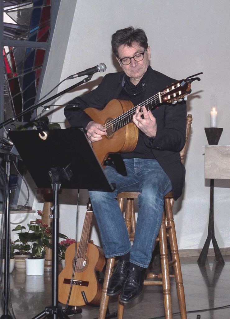 Gitarrenkonzert, Tagespflege Eremitage, Förderverein, Caritasverband