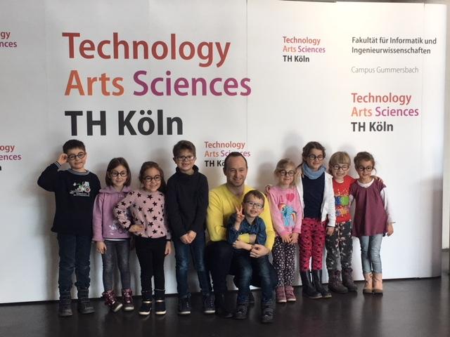 Kindergarten St. Elisabeth, Uni Köln, Kinder