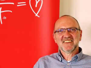 Ehrenamtskampagne, Caritas, Hospizhilfe, Wolfgang Ax