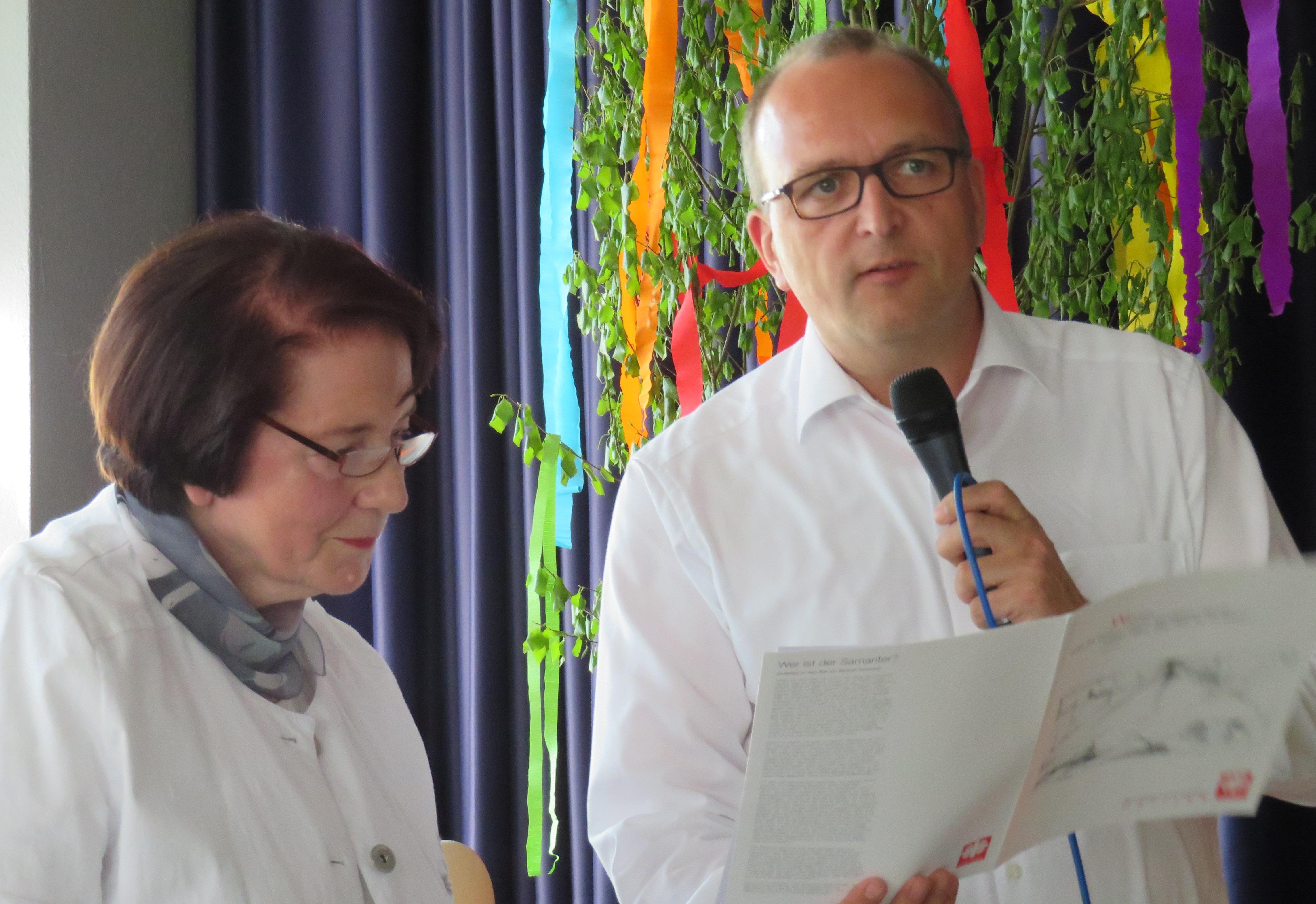Auszeichnung, Ehrenamt, Goldenes Ehrenzeichen, Deutscher Caritasverband, Vitt, Jugert