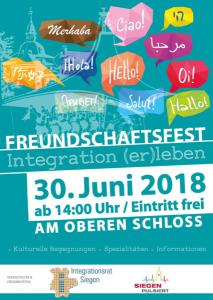 Freundschaftsfest 2018, Oberes Schloss