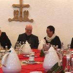 Matthias Vitt, Erzbischof Becker, Marlies Schindler, Dechant Köhle
