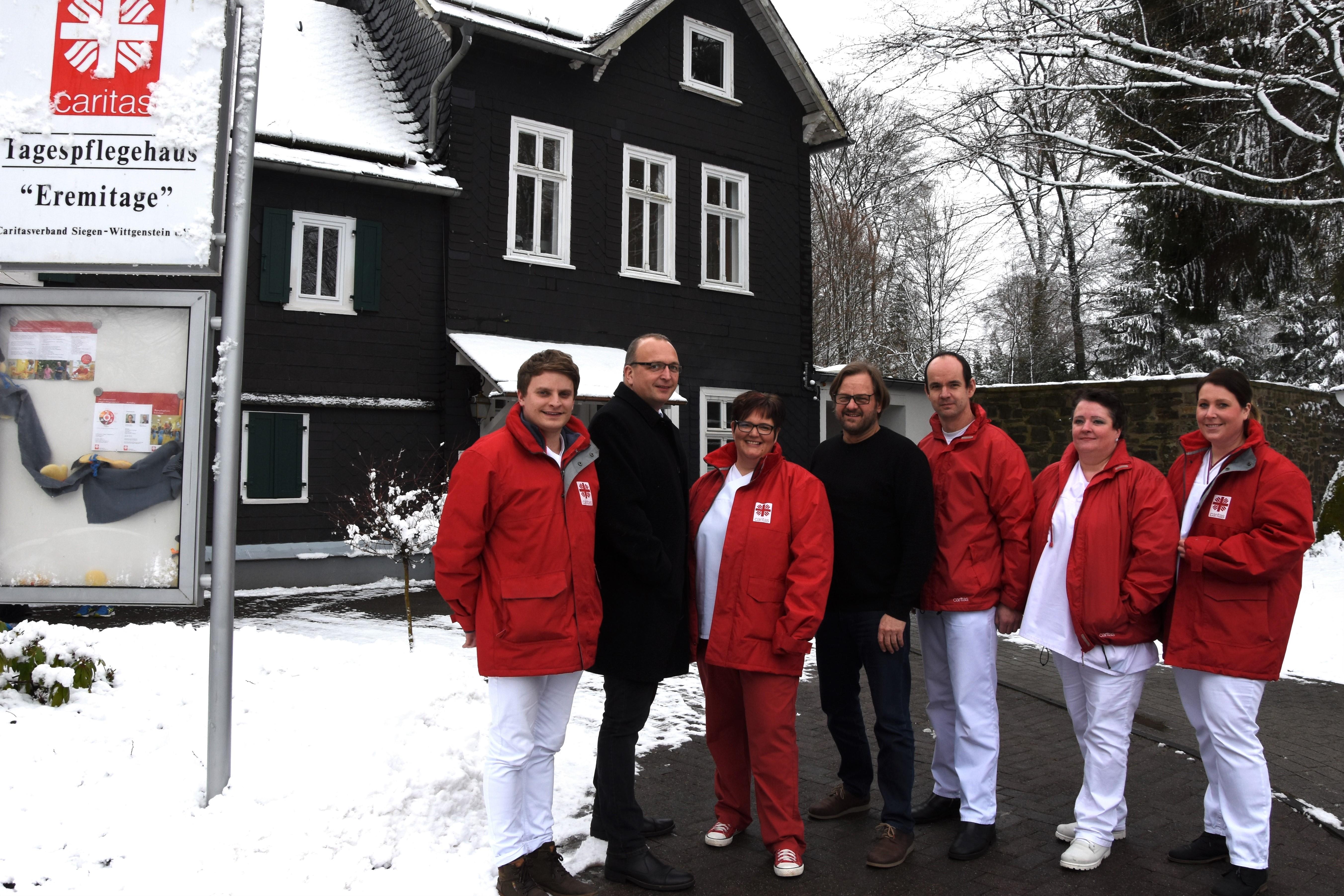 Caritas Sozialstation, Wilnsdorf, ERmeitage, Tagespflege, Stockschläder