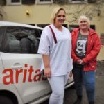 Natascha Feldmann, Gabi Klein, Caritas, Ausbildung, Pflege