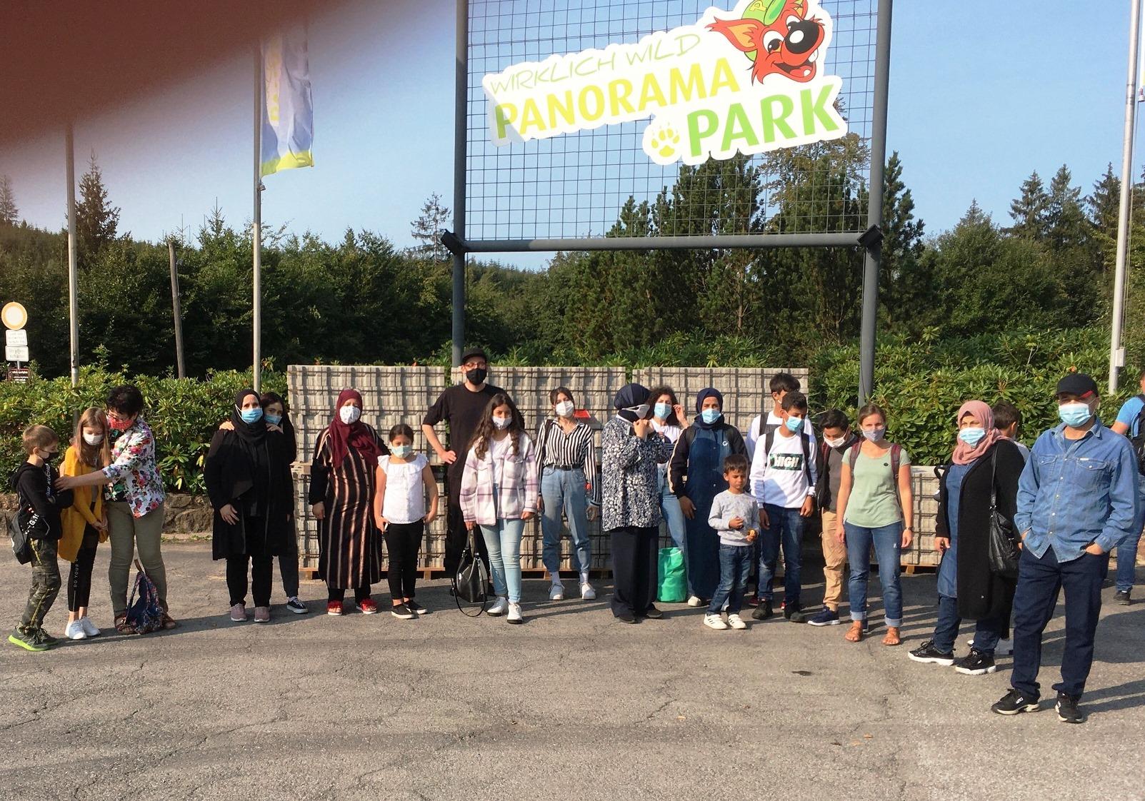 Familienausflug zum Panoramapark