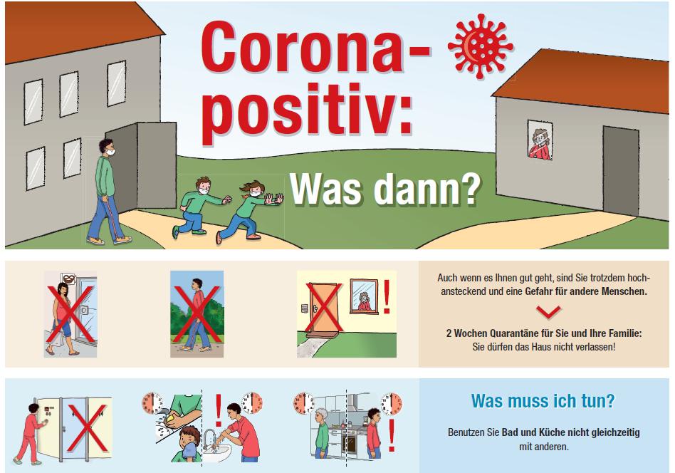 """Corona-positiv – Was dann?"": Info-Plakat in 17 Sprachen"