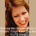Portrait von Eva Konieczny und dem Schriftzug Hörbeitrag
