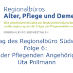 Logo des Regionalbüro mit Titel der Folge